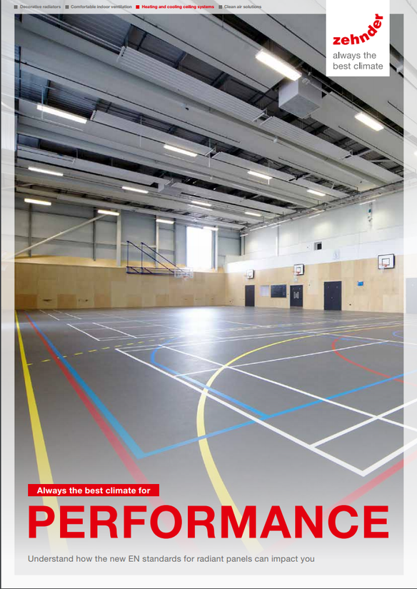 Heating And Cooling Ceiling Systems Zehnder Group Uk