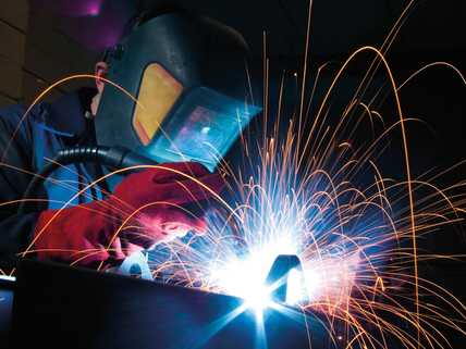 Reduction in welding fumes and smells of up to 90%